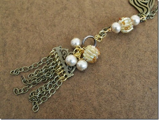 1920's Inspired Necklace Focal