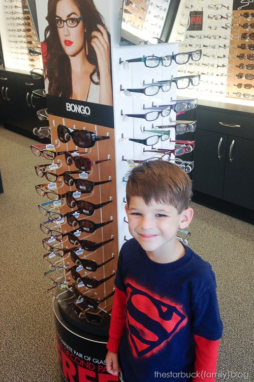 Trying Glasses on with Scott blog-6
