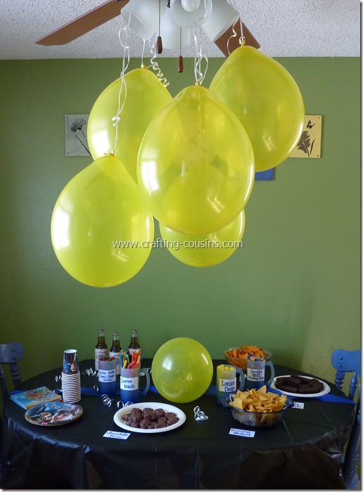 Harry Potter birthday party ideas from the Crafty Cousins (11)