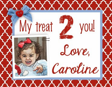 Caroline 2nd BD Thank You Treat