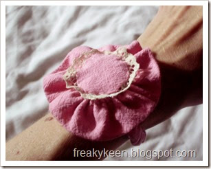 flower corsage from pants