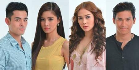 Xian Lim, Kim Chiu, Maja Salvador, Enchong Dee