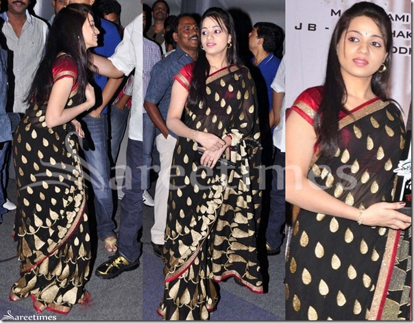 Reshma_Black_Saree