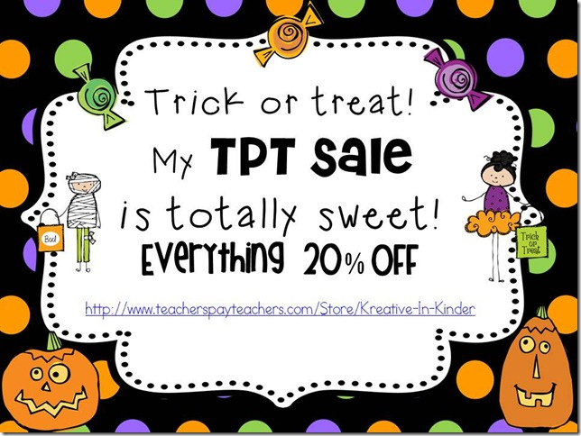 TPT halloween sale