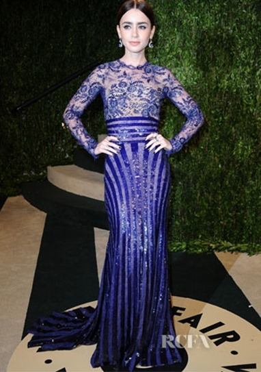 Lily-Collins-In-Zuhair-Murad-Couture-