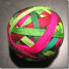Lollipop Yarn - Christmas Carol