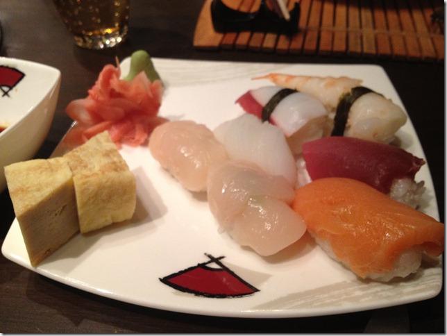 sushi at pan asian