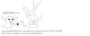 [AA]マモノ 焼き魚