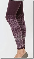 Uniqlo Heattech Knitted Leggings
