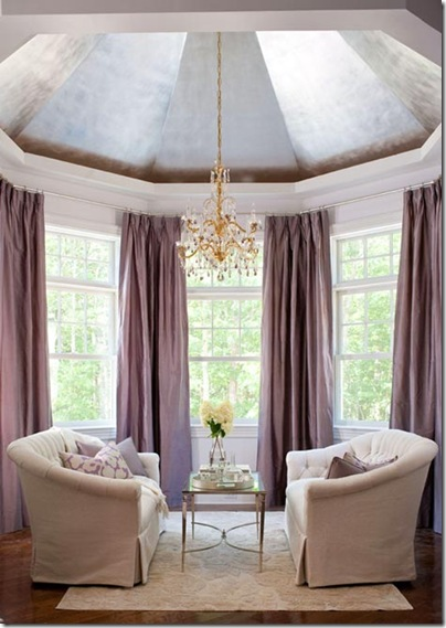 seating area chandelier