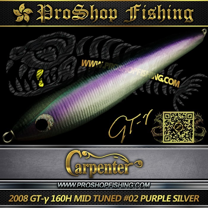 carpenter 2008 GT-γ 160H MID TUNED #02 PURPLE SILVER.5