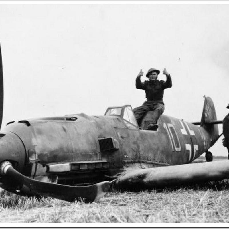 21 fotos históricas de aviões nazistas abatidos na Batalha da Grã-Bretanha