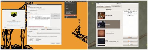 Variety e Slidewall su Ubuntu