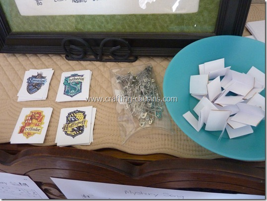 Harry Potter birthday party ideas from the Crafty Cousins (8)