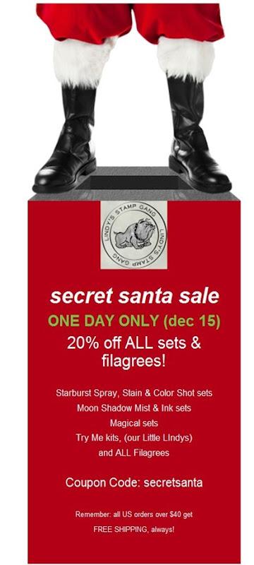 secret santa sale