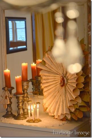 chandelier bokeh