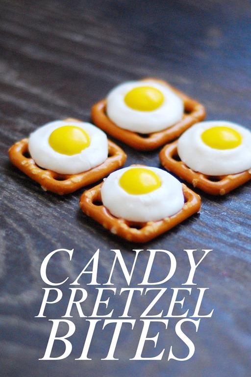 Candy Pretzel Bites
