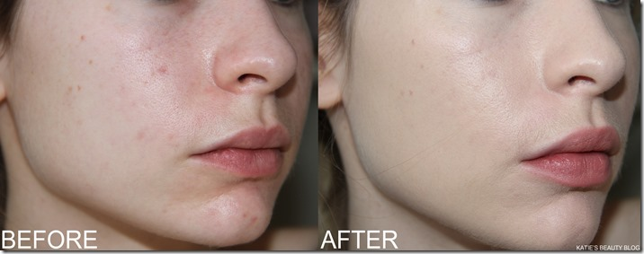 CLARINS FOUNDATION BEFORE AFTER2