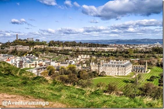 Vista de Edimburgo, a partir do Arthurs Seat - Escócia (4)