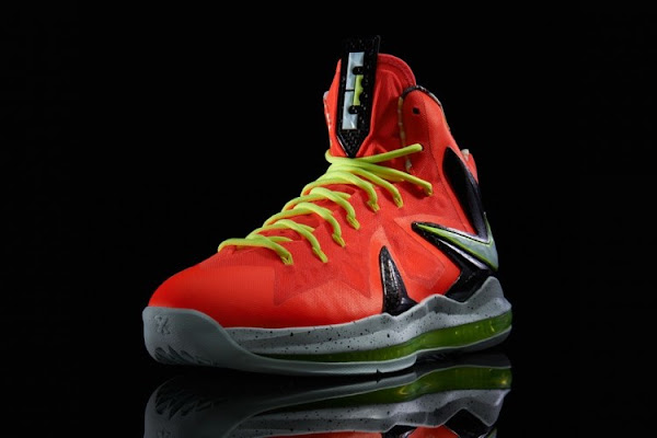 Release Reminder Nike LeBron X PS Elite 8220Total Crimson8221