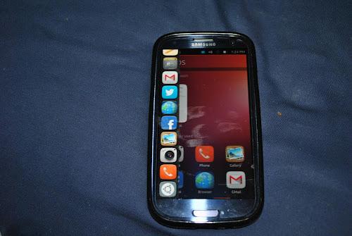 Ubuntu Phone su Samsung Galaxy S3