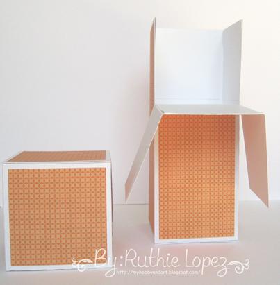cake box surprise box - Lid SDS - Ruthie Lopez DT 12