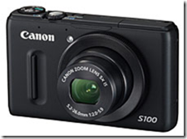Recommended Digital Camera Canon PowerShot S100