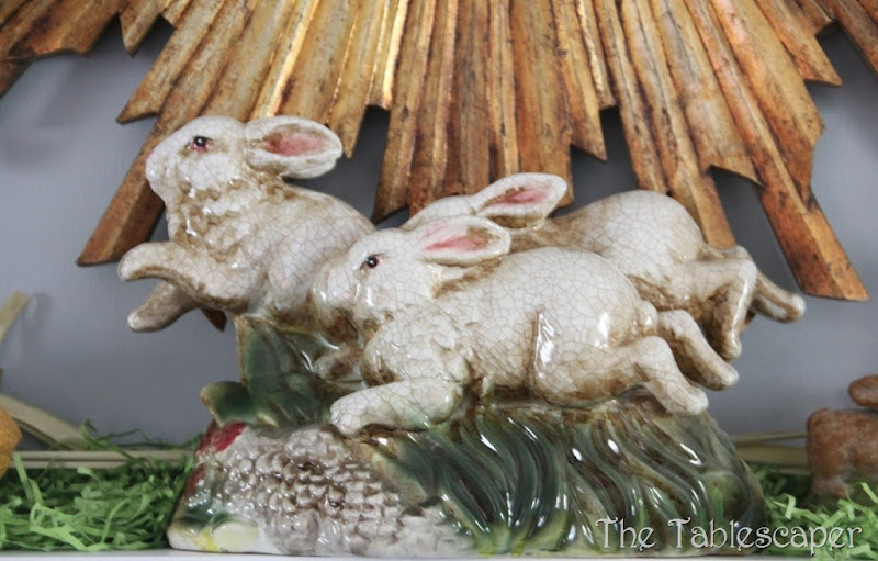 Easter Mantel - The Tablescaper05