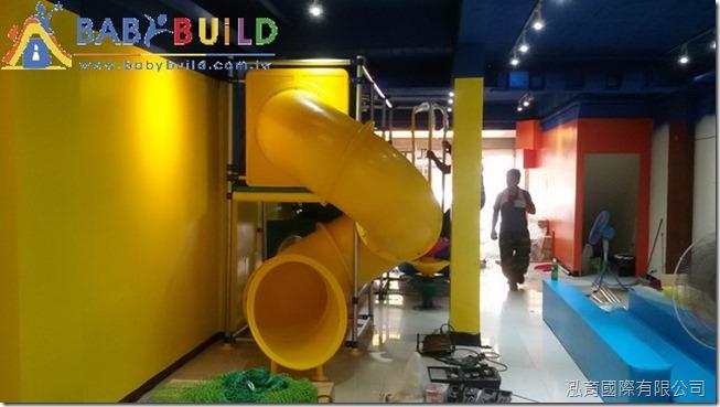 BabyBuild 室內3D泡管兒童遊具溜滑梯施工組裝