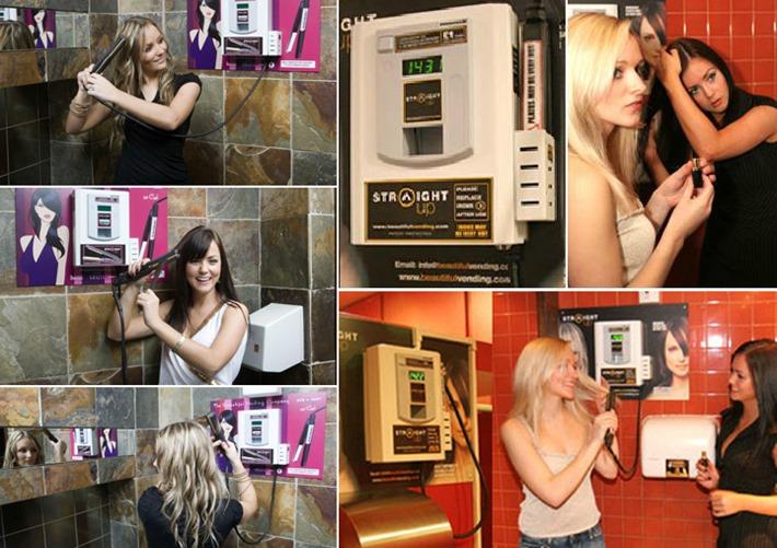 vending machine chapinha cabelos