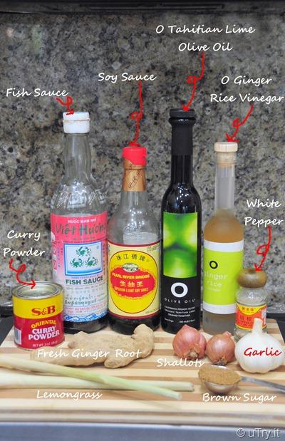Marinate Ingredients