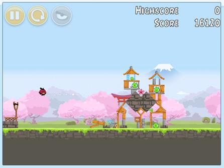 Angry Birds da Fuji TV