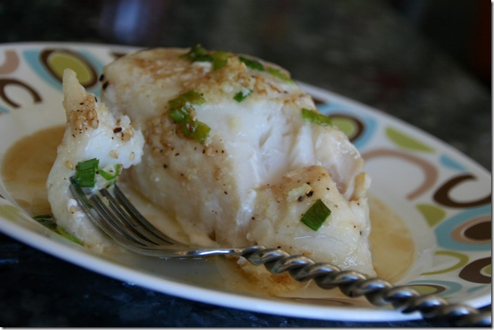Sesame Ginger Sea Bass 1