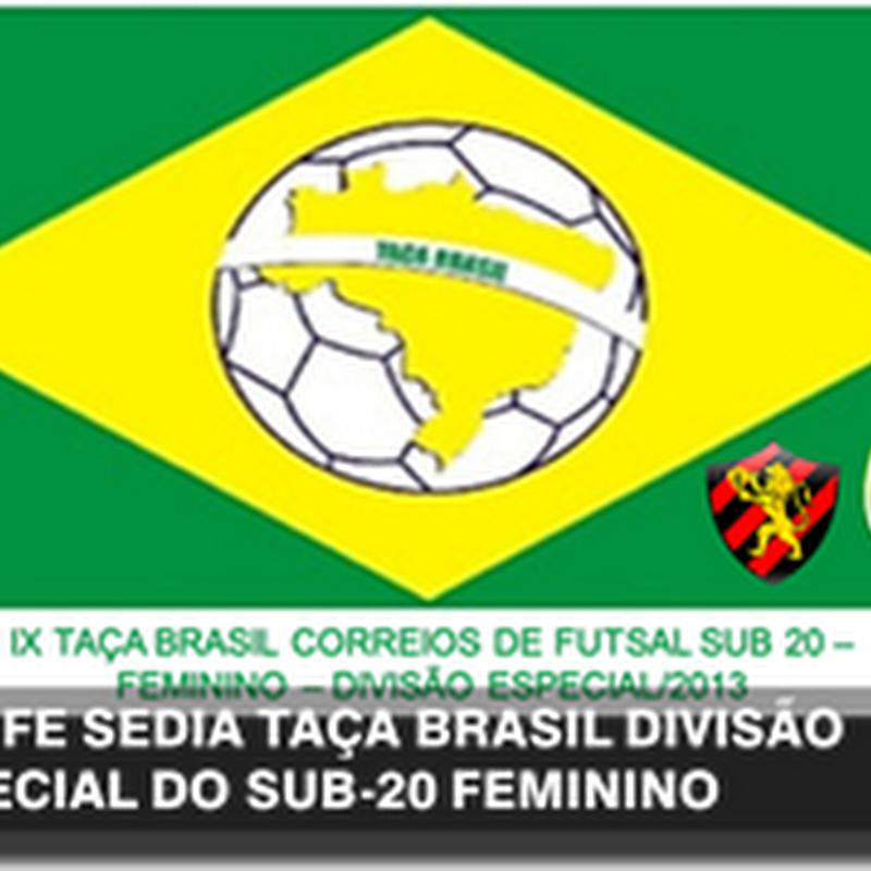 RECIFE SEDIA DIVISÃO ESPECIAL DO SUB-20 FEMININO
