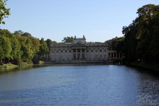 Warszawa łazienki Królewskie Ii Pałac Na Wyspie Blog