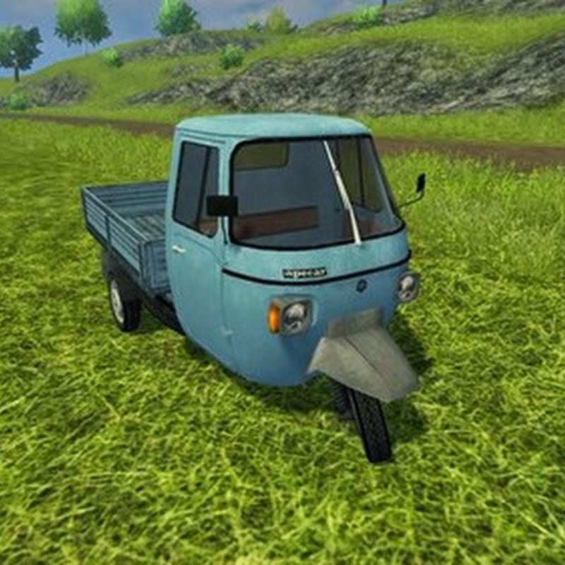 Farming simulator 2013 - Piaggio Ape P601 v 1.0