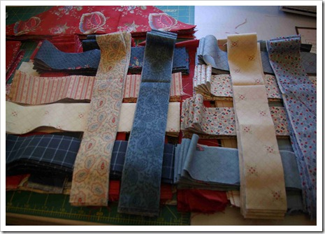Chippwa nine patch strips