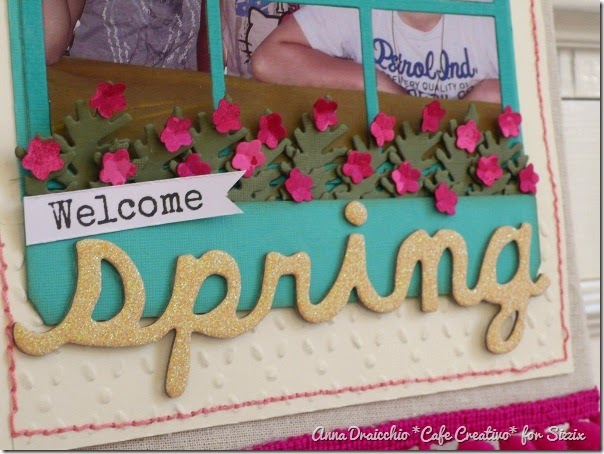 Anna Draicchio - sizzix big shot -home decor - Wall Hanging Spring (2)