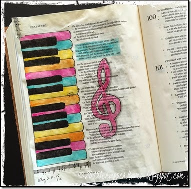 Joyful Noise Bible Art Journaling