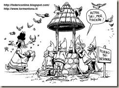Pozzo dei desideri Biancaneve e i 7 nani per Agenda