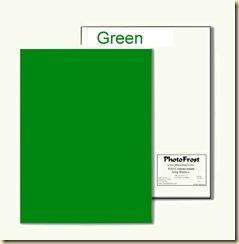 8x13 Green Icing Sheet