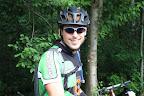 Tomek też na rowerze zastępczym. Coś iX'owe chłopaki mają pecha do sprzętu