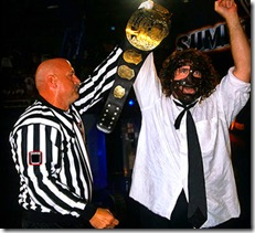 Mankind WWF Champion