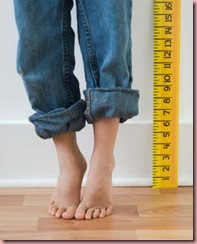 Boy Height Measurement
