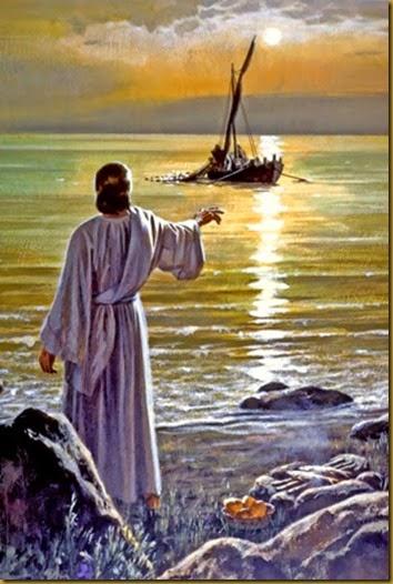 JESUS SE APARECE A LOS APOSTOLES EN TIBERIADES
