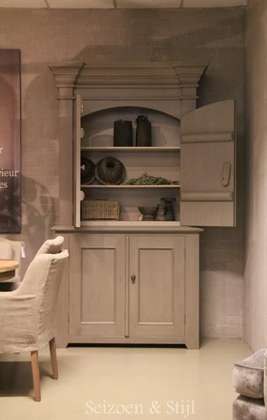Seizoen stijl de deur gaat weer open - Tafel een kribbe stijl industriel ...