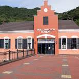 huis ten bosch station in Sasebo, Nagasaki, Japan