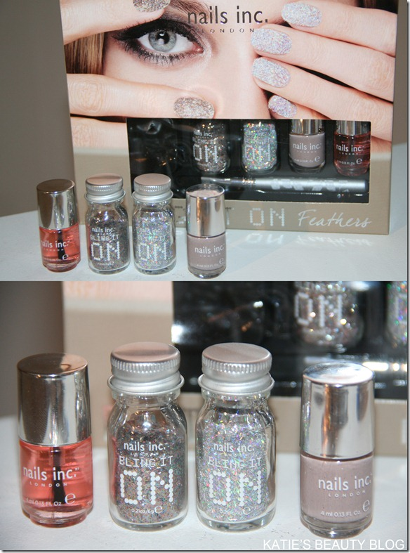 nails inc glitter set
