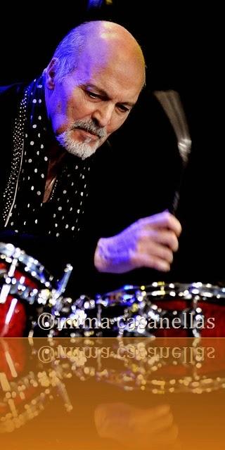Aldo Romano, Nova Jazz Cava, Terrassa 2014