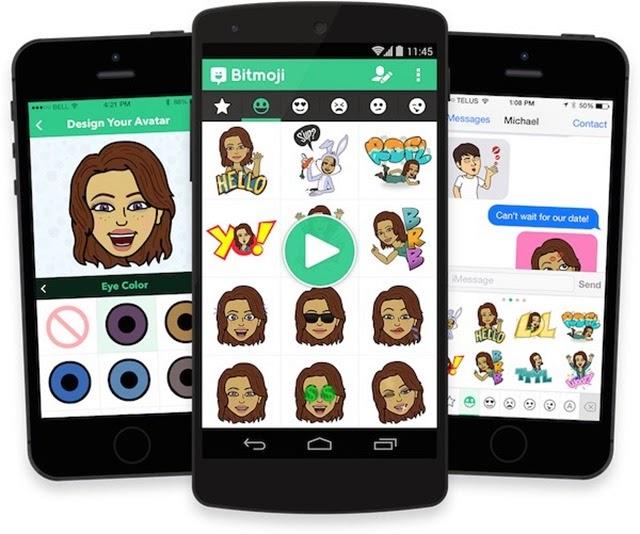 Cómo compartir mis stickers y emoticones de Bitmoji en otras aplicaciones